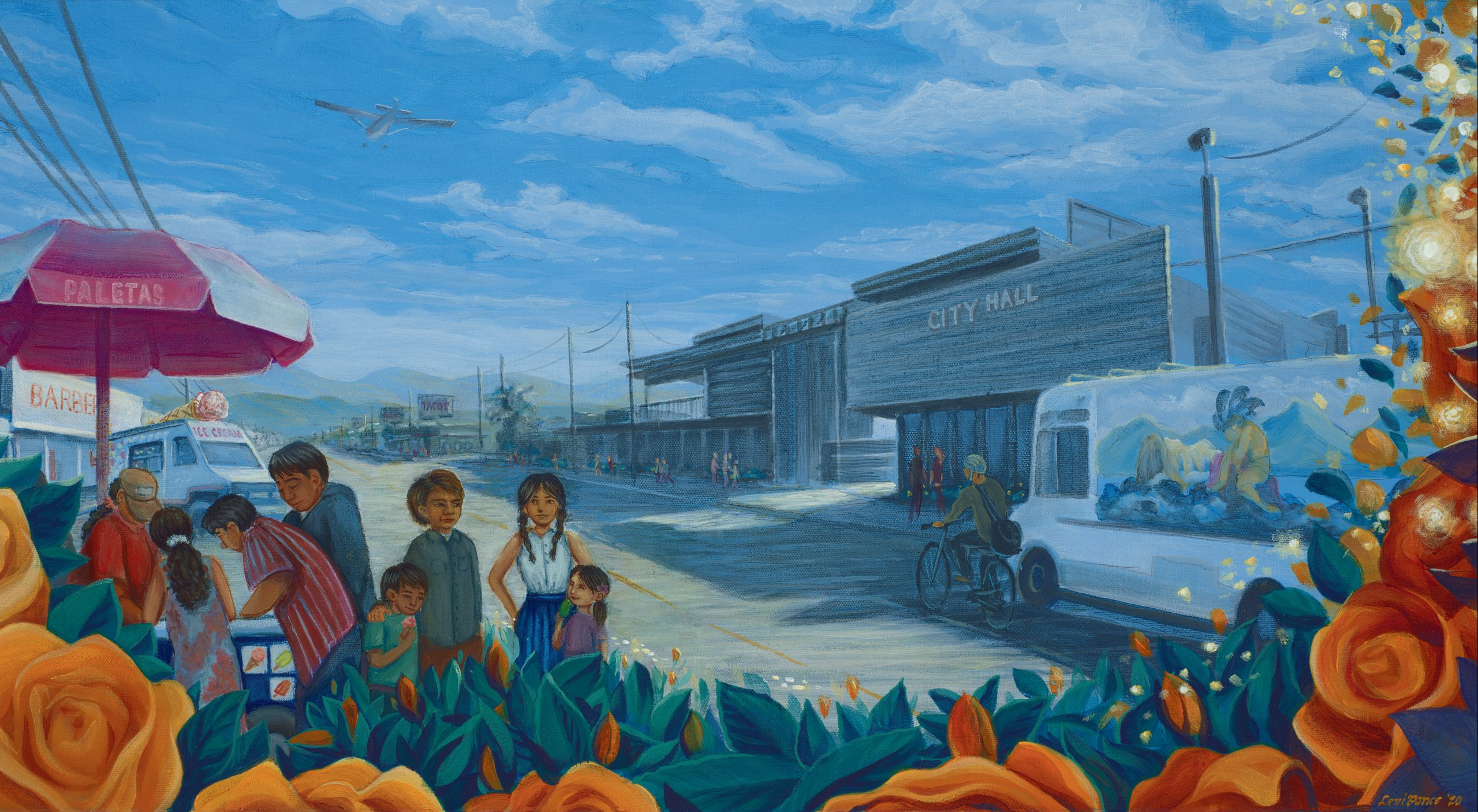 Pacoima Through the Eyes of Artist Levi Ponce