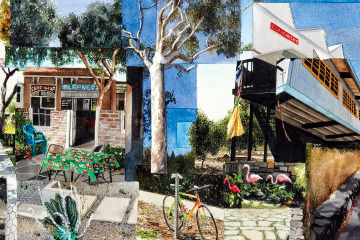 Through the Eyes of artist Jessica Polzin McCoy, Claremont