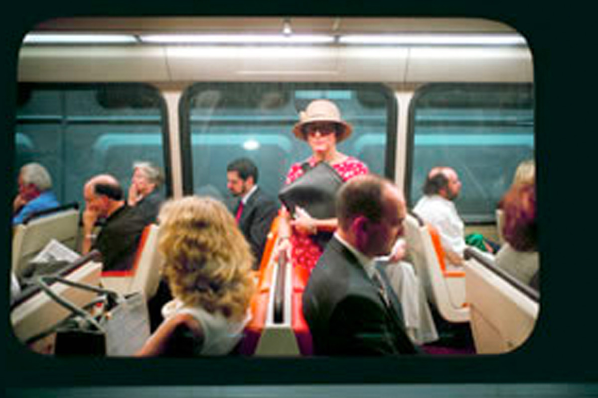 Andrew Z. Glickman, Photographs on the D.C. Subway
